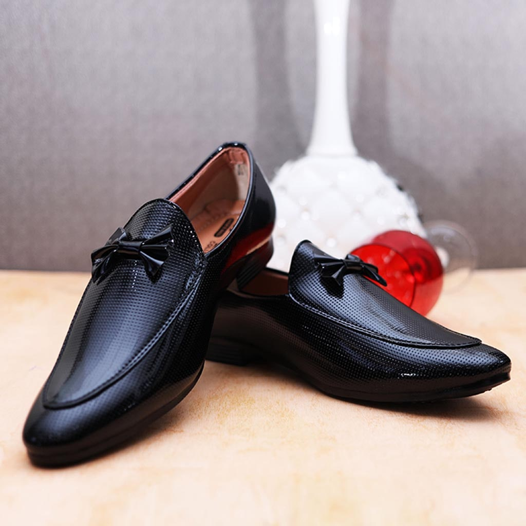 516d7fa712 Men's Glossy Leather Formal Design Shoes – Billa Berry