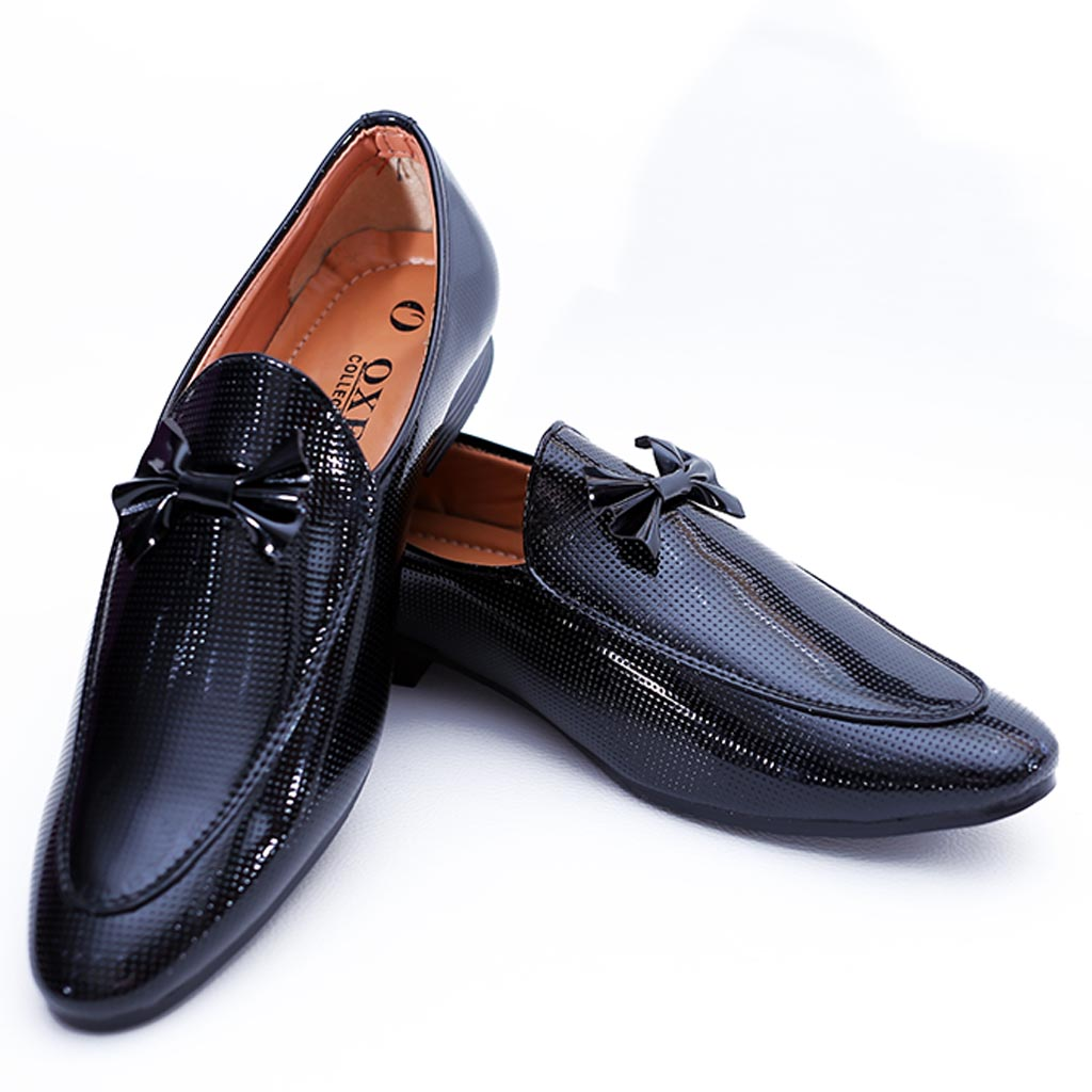 a83213b94c Luxury Model Black Leather Formal Shoes For Men's – Billa Berry