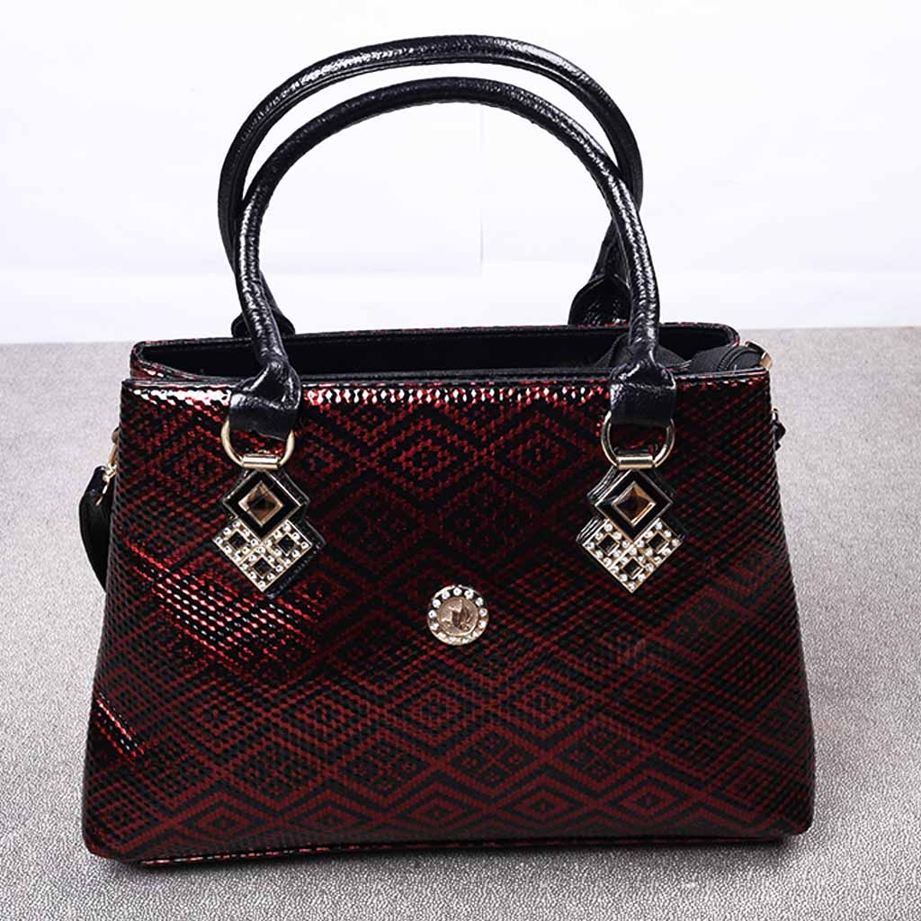 37bbac03ade New Model Hand Bag In Black & Red Color For Ladies
